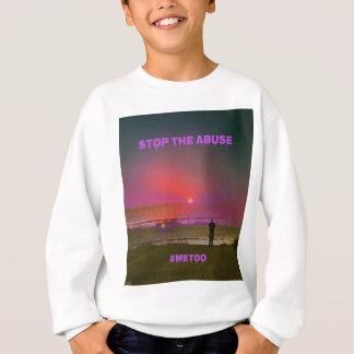 Overlay Beach Sunrise Silhouette #METOO Sweatshirt