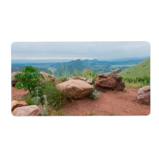 Overlook at Red Rocks Park