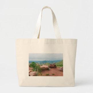 Overlook at Red Rocks Park Large Tote Bag