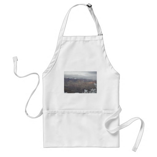 Overlook Grand Canyon National Park Mule Ride Apron
