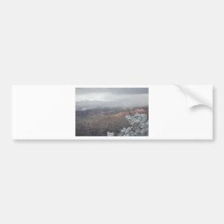 Overlook Grand Canyon National Park Mule Ride Bumper Sticker