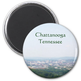 Overlook of Chattanooga, TN Magnet