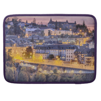 Overlooking Fribourg in the early evening Sleeve For MacBooks