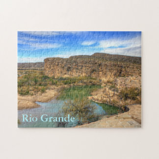 Overlooking the Rio Grande Jigsaw Puzzle