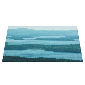 Overlooking Winnipesaukee Canvas Print