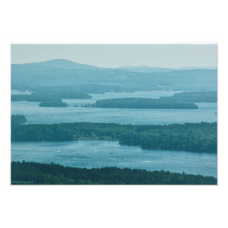Overlooking Winnipesaukee Photo Print