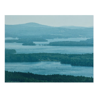 Overlooking Winnipesaukee Postcard