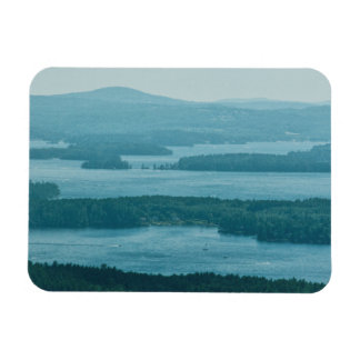 Overlooking Winnipesaukee Rectangular Photo Magnet