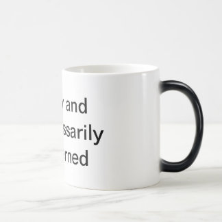 Overly and Unnecessarily Concerned Magic Mug