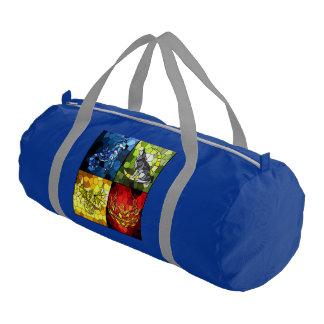 Overnight Gym bag (Double Sided Acad/House) Gym Duffel Bag
