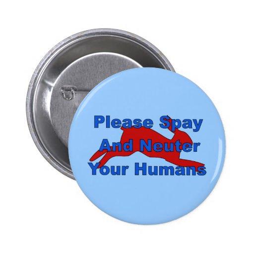 Overpopulation Bombs Pinback Button