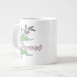 Oversize Peppermint Tea Mug