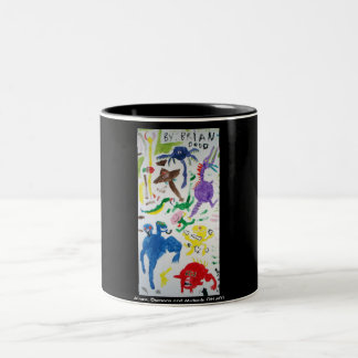 Oversized Mug with Aliens, Demons and Mutants