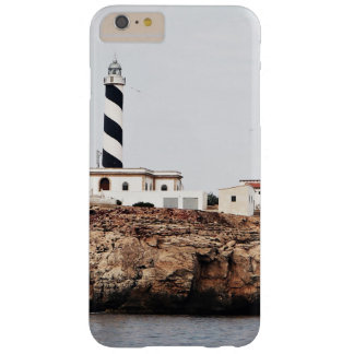 overview lighthouse on cliff sea barely there iPhone 6 plus case