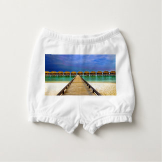 Overwater bungalows at Sheraton Maldives Nappy Cover