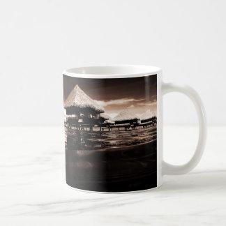 Overwater Bungalows Coffee Mug