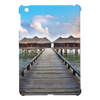 Overwater Bungalows iPad Mini Cover