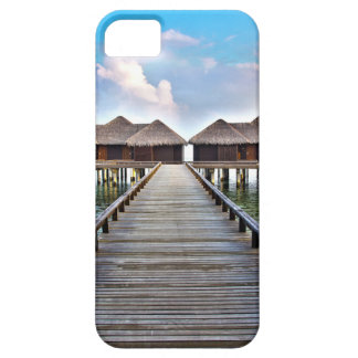 Overwater Bungalows iPhone 5 Case