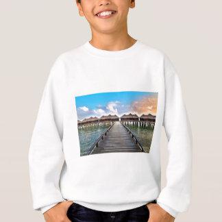 Overwater Bungalows Sweatshirt