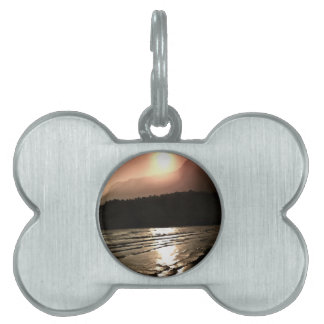 Overwhelming Waves of Sadness Pet Name Tag