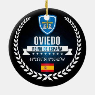Oviedo Ceramic Ornament
