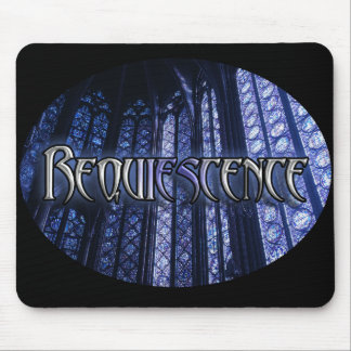 Ovular Title Mouse Pad