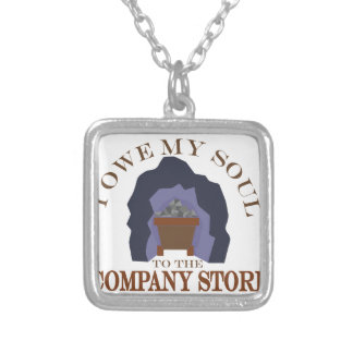 Owe My Soul Silver Plated Necklace