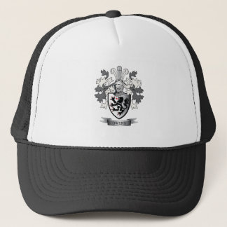 Owens Family Crest Coat of Arms Trucker Hat