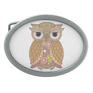 Owl 1 belt buckle