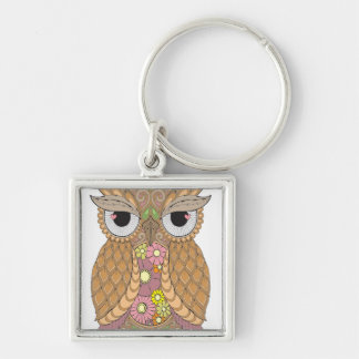 Owl 1 key ring