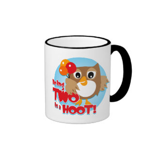 Owl 2nd Birthday Mug