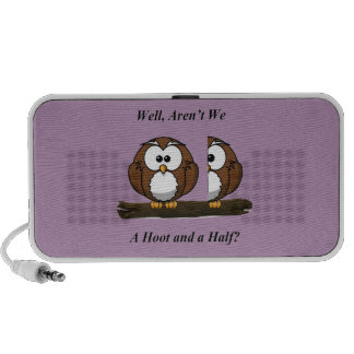 Owl A Hoot and a Half Laptop Speakers