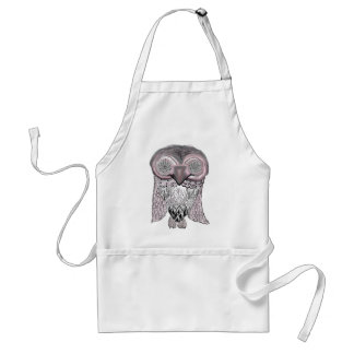 Owl - Abstract Apron