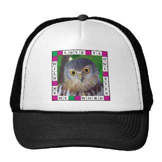 Owl-alishush Cap
