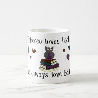 Owl Always Love Books Basic White Mug