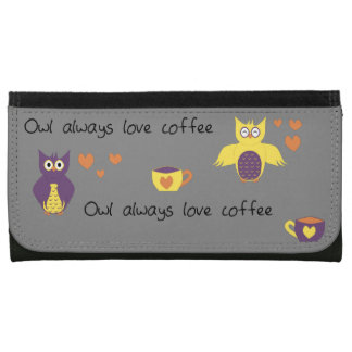 Owl Always Love Coffee Wallets
