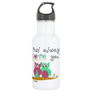 Owl Always Love You 532 Ml Water Bottle