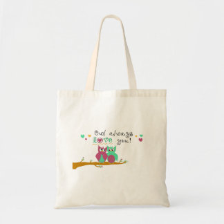 Owl Always Love You Budget Tote Bag