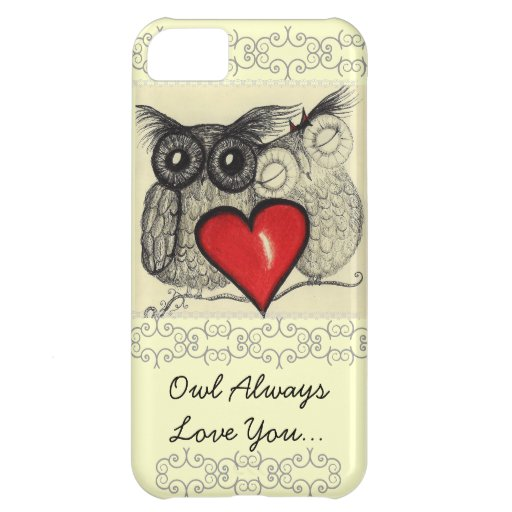 Owl Always Love You iPhone 5C Cases