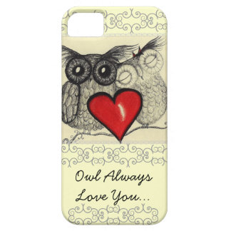 Owl Always Love You Case For The iPhone 5