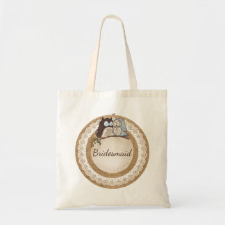 Owl Always Love You Casual Wedding Attendant Gift Tote Bag