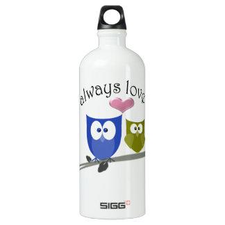 Owl always love you, cute Owls Art SIGG Traveller 1.0L Water Bottle