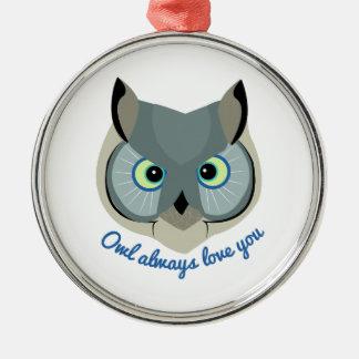 Owl Always Love You Ornament