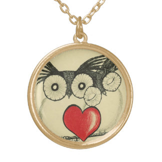 Owl Always Love You - Goldtone Necklace