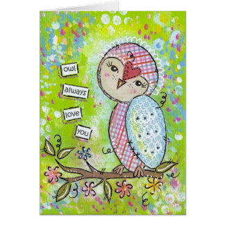 owl always love you-green card
