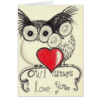 Owl Always Love You Greeting Card