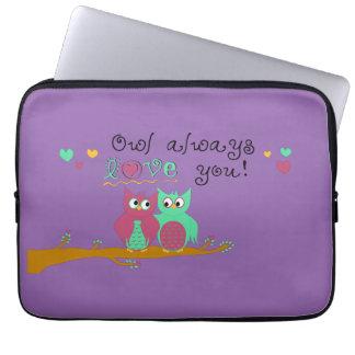 Owl Always Love You Laptop Sleeve