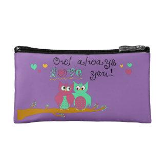 Owl Always Love You Makeup Bag
