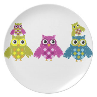 Owl' Always Love You Plates