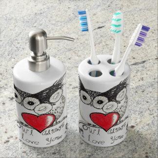 Owl Always Love You Soap Dispenser